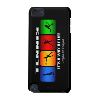 Cool Tennis It Is A Way Of Life (Female) iPod Touch 5G Cases