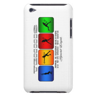 Cool Tennis It Is A Way Of Life (Female) iPod Touch Case