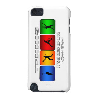 Cool Tennis It Is A Way Of Life (Male) iPod Touch (5th Generation) Covers