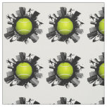 Cool Tennis World Fabric
