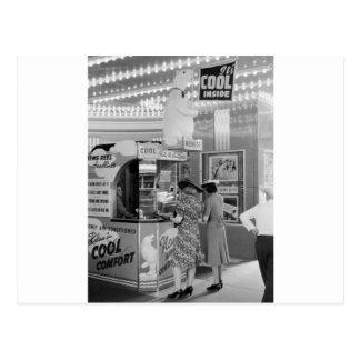 Cool Theater, 1940 Postcard