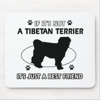 Cool TIBETAN TERRIER designs Mouse Pad