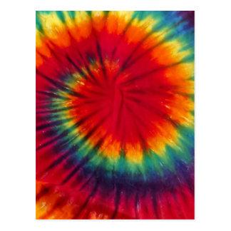 Cool Tie Dye Postcard