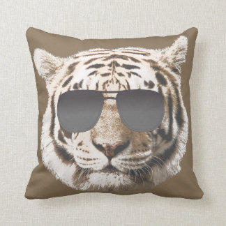 Cool Tiger Throw Pillow