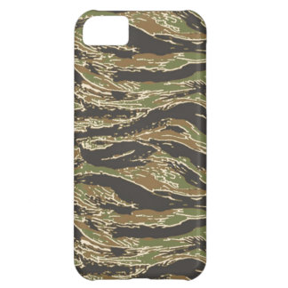 Cool TigerStripe Camouflage iPhone 5C Cases