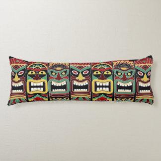 Cool Tiki Totems body pillow