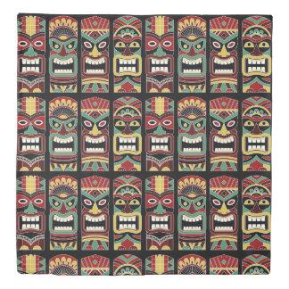 Cool Tiki Totems duvet covers