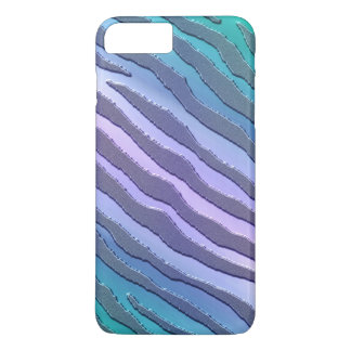 Cool Toned Tiger Animal Print iPhone 7 Plus Case