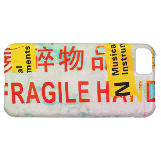 COOL Torn FRAGILE Marking w Chinese Characters iPhone 5C Covers