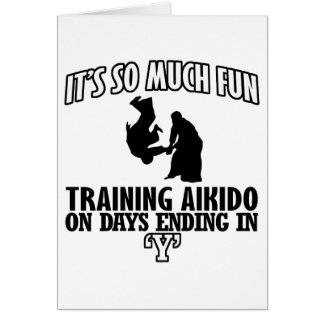 cool  Trending Aikido DESIGNS Card