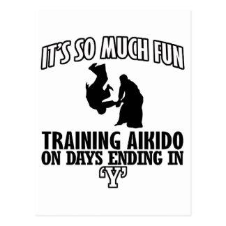 cool  Trending Aikido DESIGNS Postcard
