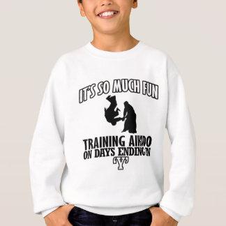 cool  Trending Aikido DESIGNS Sweatshirt