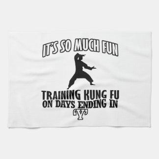 cool Trending Kung fu DESIGNS Kitchen Towel