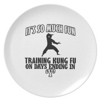 cool Trending Kung fu DESIGNS Plate