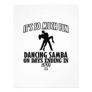 cool Trending Samba dance DESIGNS Letterhead