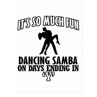 cool Trending Samba dance DESIGNS Postcard