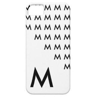 Cool Trendy and Unique Monogram iPhone 5 Case