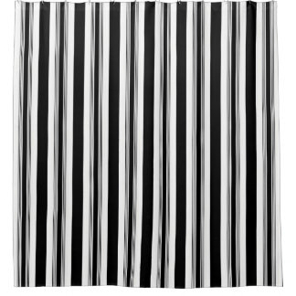 Cool Trendy Black And White Vertical Striped