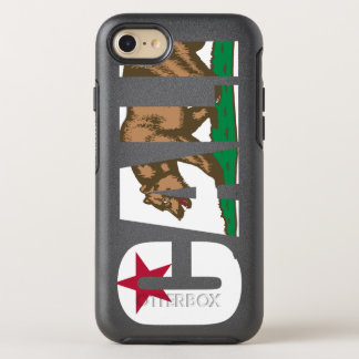Cool Trendy Cali California Flag OtterBox Symmetry iPhone 8/7 Case