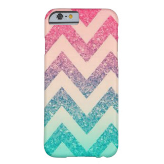 Cool Trendy  Ombre Zigzag Chevron Pattern Barely There iPhone 6 Case