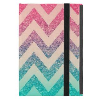 Cool Trendy  Ombre Zigzag Chevron Pattern Case For iPad Mini