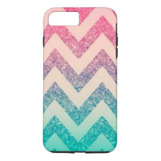 Cool Trendy  Ombre Zigzag Chevron Pattern iPhone 8 Plus/7 Plus Case