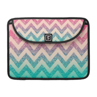 Cool Trendy  Ombre Zigzag Chevron Pattern Sleeve For MacBooks