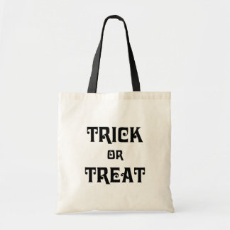 Cool Trick or Treat Halloween Tote Bag