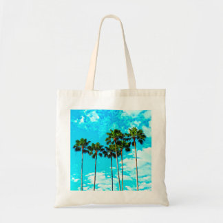 Cool Tropical Palm Trees Blue Sky
