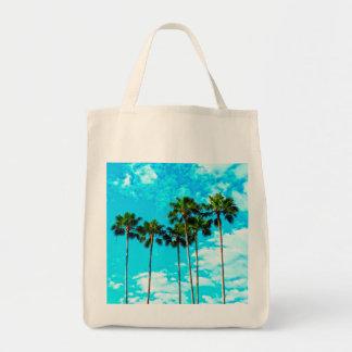 Cool Tropical Palm Trees Blue Sky