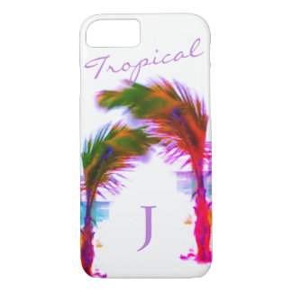 Cool Tropical Palm trees iPhone 8/7 Case