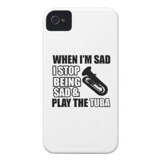 Cool Tuba designs Case-Mate iPhone 4 Case