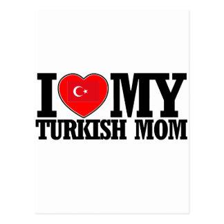 cool Turkish  mom designs Postcard