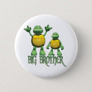 Cool Turtles Big Brother 2 Inch Round Button