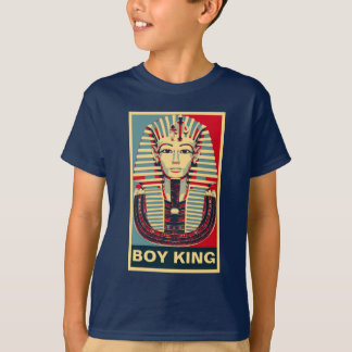 Cool Tutankhamen 'Boy King' Hope Poster style T-Shirt