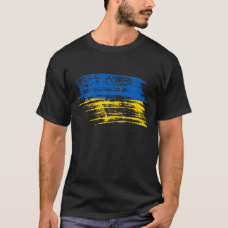 Cool Ukrainian flag design T-Shirt