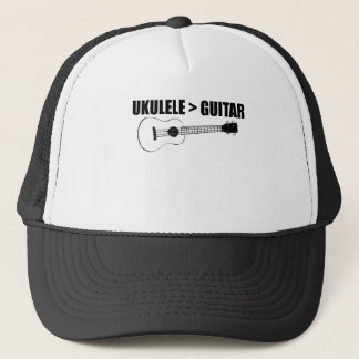 cool ukulele trucker hat