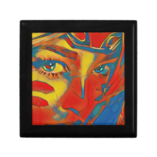 Cool Uncommon Contemporary Artistic Eyes Gift Box