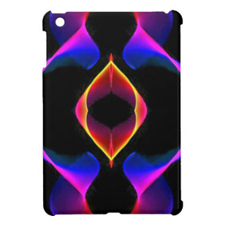 Cool Unique Blue Pink Purple Fluorescent Abstract iPad Mini Cases