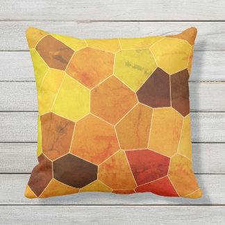 Cool Unique Rustic Pattern Throw Pillow