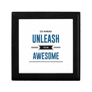 Cool Unleash Your Awesome Gift Box