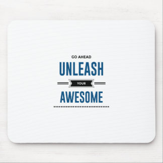 Cool Unleash Your Awesome Mouse Pad