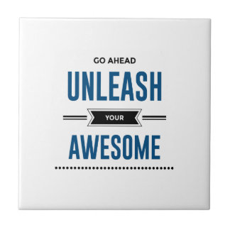 Cool Unleash Your Awesome Tile