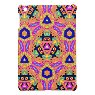 Cool Vibrant Pastel Festive Pattern iPad Mini Covers