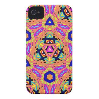 Cool Vibrant Pastel Festive Pattern iPhone 4 Case