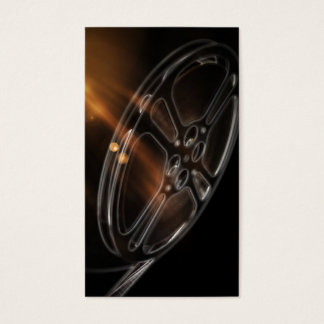 Cool Video Film Production Movie Reel Business Card