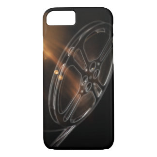 Cool Video Film Production Movie Reel iPhone 8/7 Case