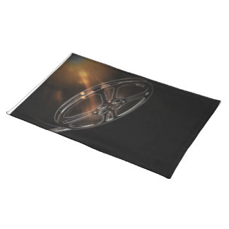 Cool Video Film Production Movie Reel Place Mat