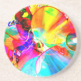 cool view beverage coaster