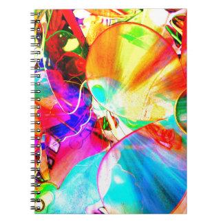 cool view spiral notebook